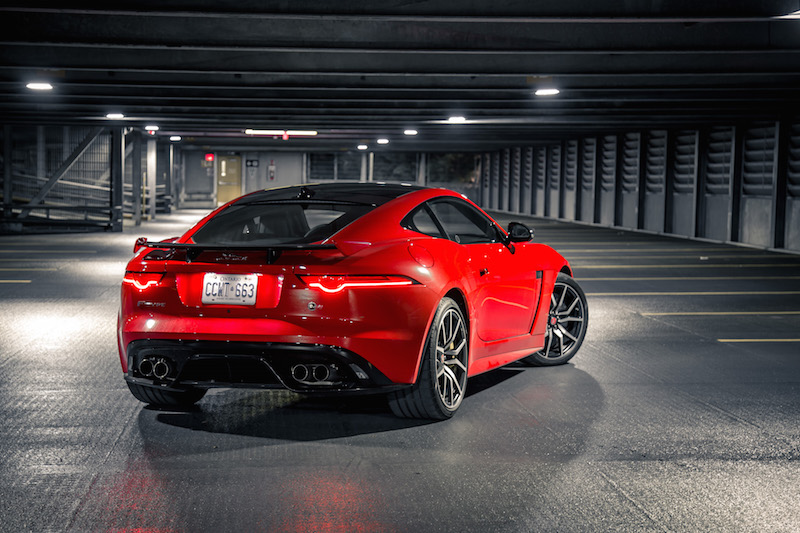 2019 Jaguar F-Type SVR carbon