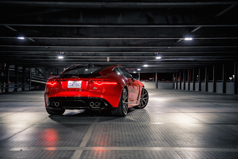 2019 Jaguar F-Type SVR rear