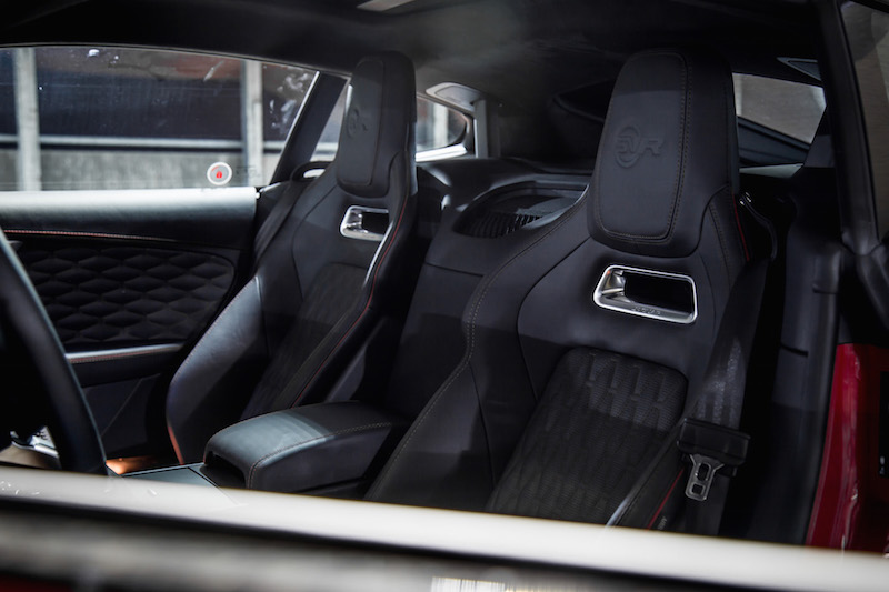 2019 Jaguar F-Type SVR leather seats