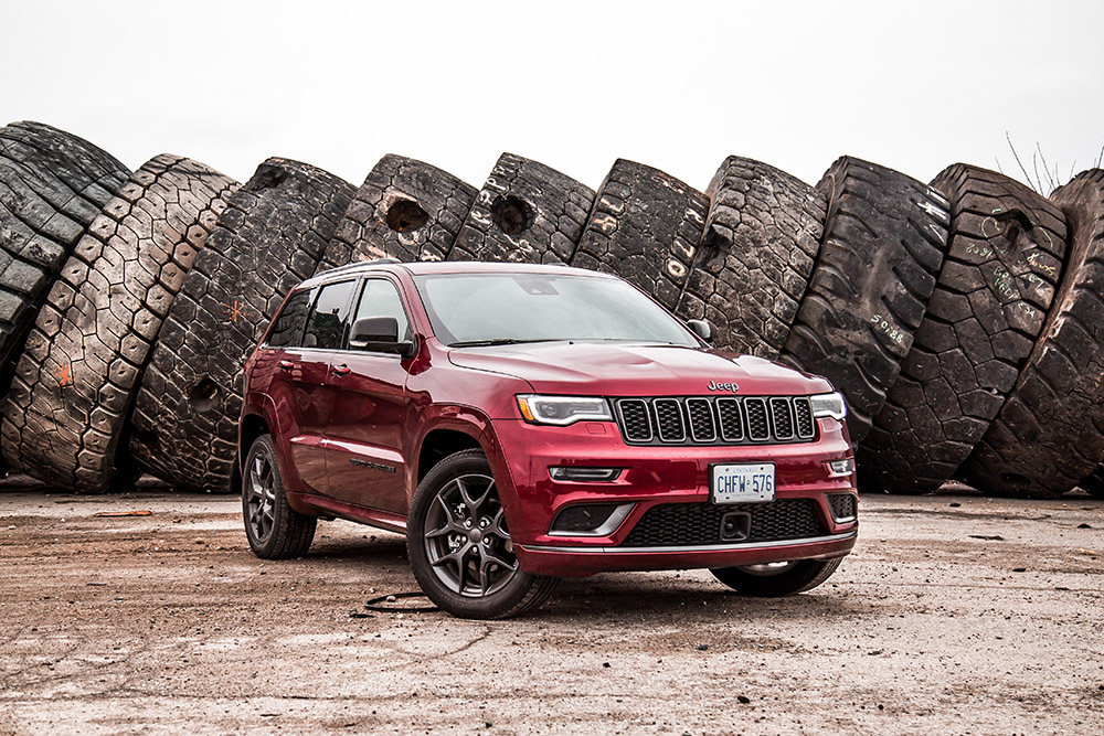 2019 Jeep Grand Cherokee Limited X velvet red paint canada review