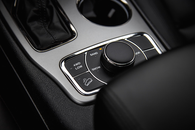 2019 Jeep Grand Cherokee drive modes