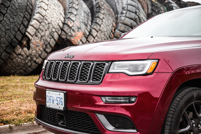 2019 Jeep Grand Cherokee Limited X front grill