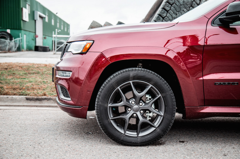 2019 Jeep Grand Cherokee Limited X wheels tires