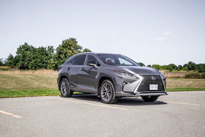 2019 Lexus RX 450h nebula grey pearl paint grey