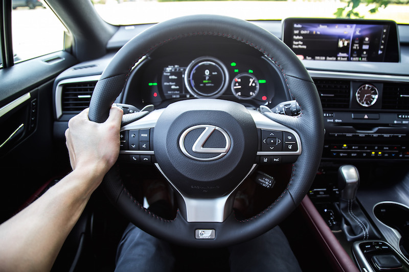 2019 Lexus RX 450h steering wheel