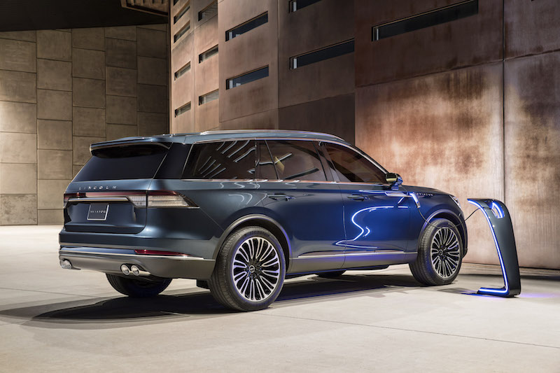 2019 Lincoln Aviator plug-in hybrid
