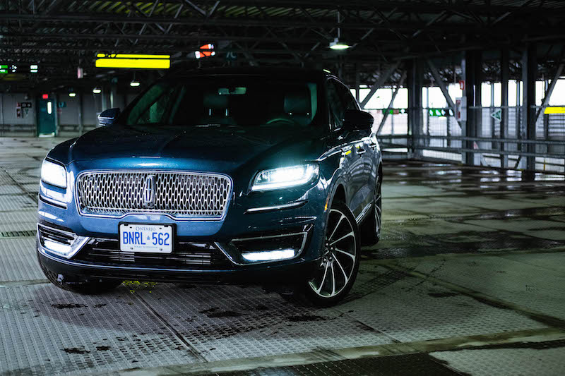 2019 Lincoln Nautilus reserve 2.7t awd blue paint