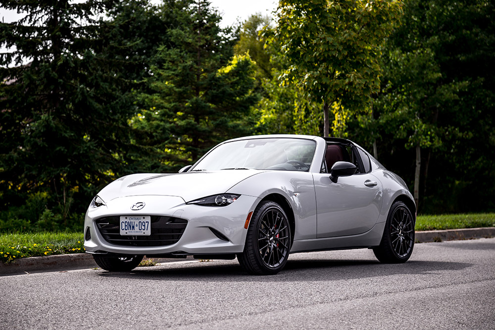 2019 Mazda MX-5 RF canada review new changes for this year