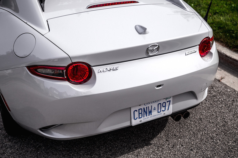 2019 Mazda MX-5 RF rear exhaust