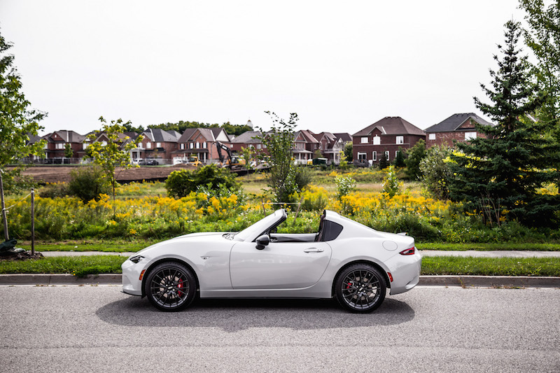 2019 Mazda MX-5 RF side view roof down