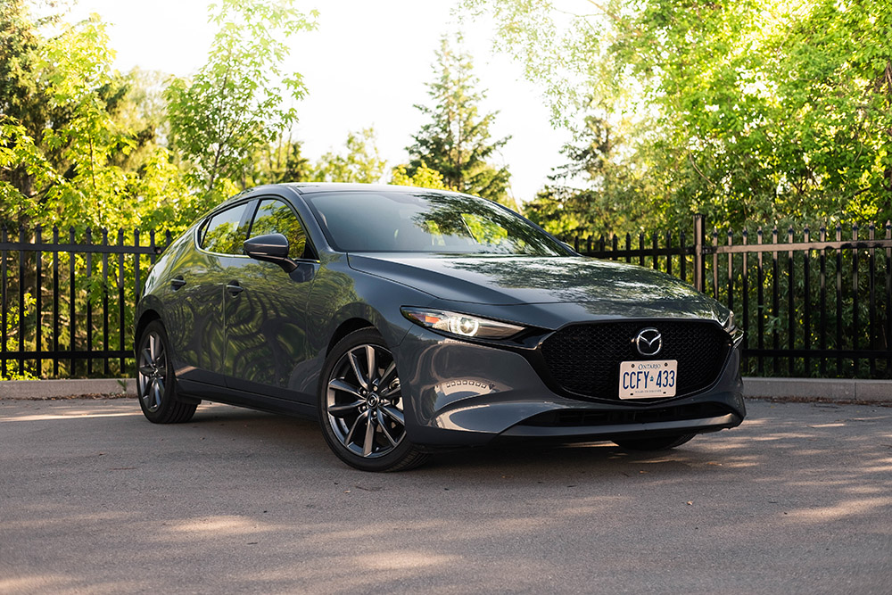 2019 Mazda3 Sport GT Manual canada review