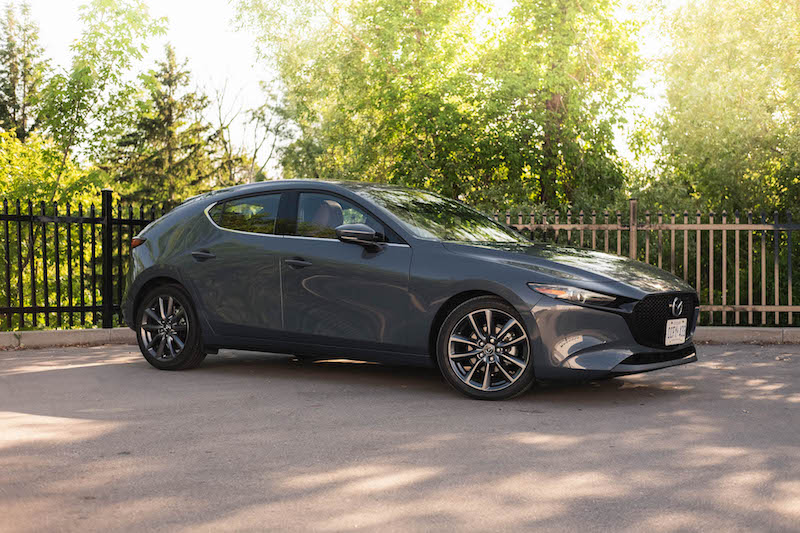 2019 Mazda3 Sport GT Manual side view