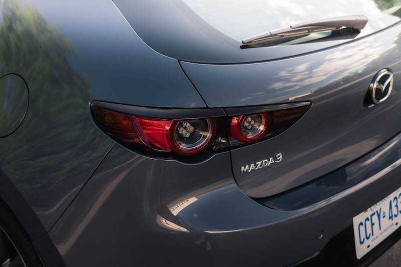 2019 Mazda3 Sport GT Manual led rear taillights