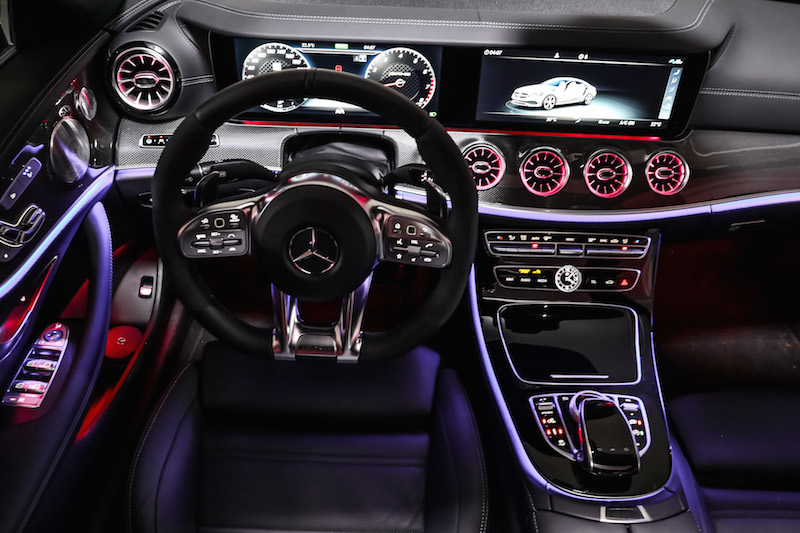 2019 Mercedes-AMG E 53 4MATIC Coupe ambient lighting