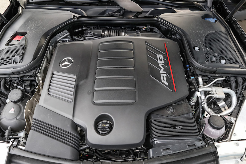 2019 Mercedes-AMG E 53 4MATIC Coupe engine