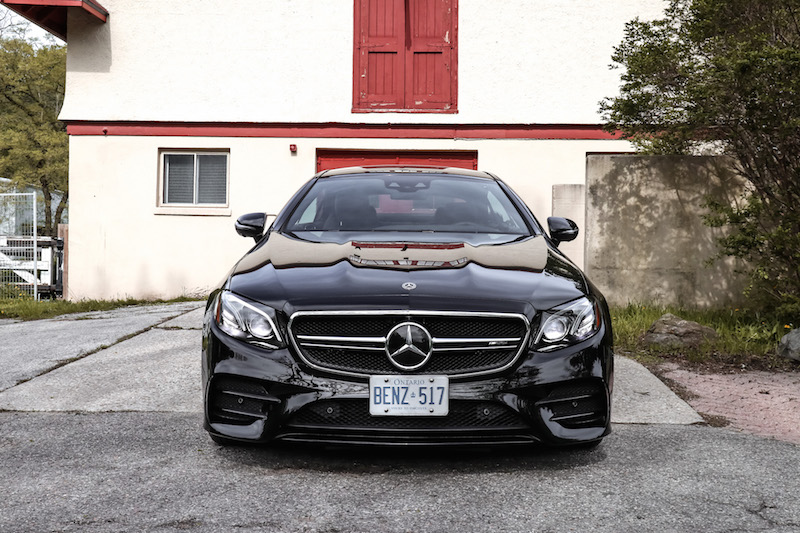 2019 Mercedes-AMG E 53 4MATIC Coupe front view