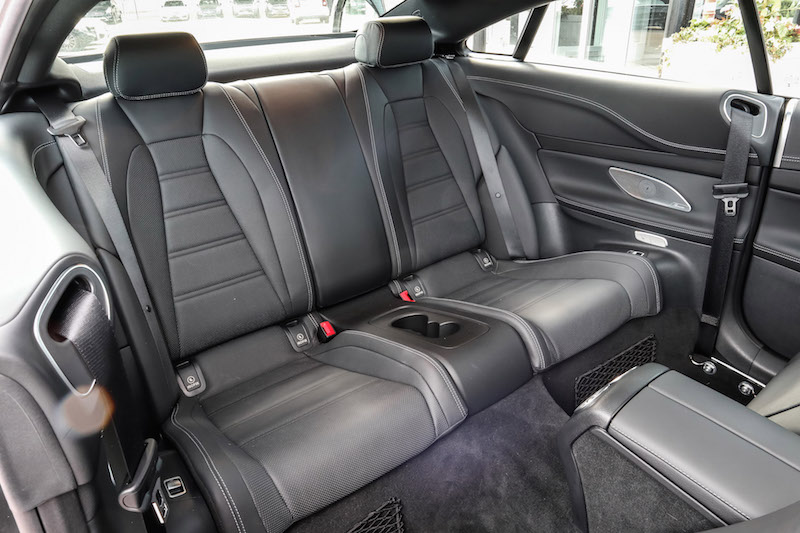 2019 Mercedes-AMG E 53 4MATIC Coupe rear seats