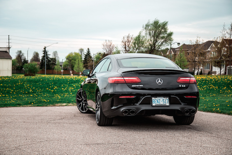 2019 Mercedes-AMG E 53 4MATIC Coupe rear view