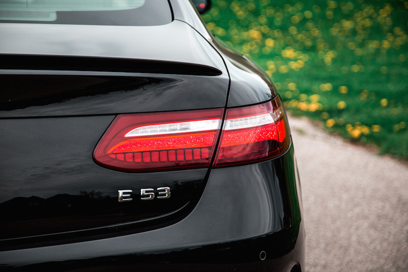 2019 Mercedes-AMG E 53 4MATIC Coupe rear tail lights