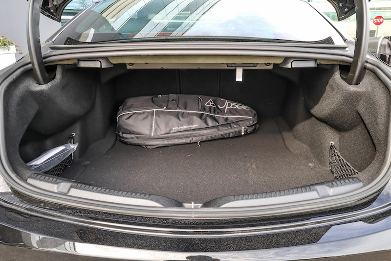 2019 Mercedes-AMG E 53 4MATIC Coupe trunk space cargo
