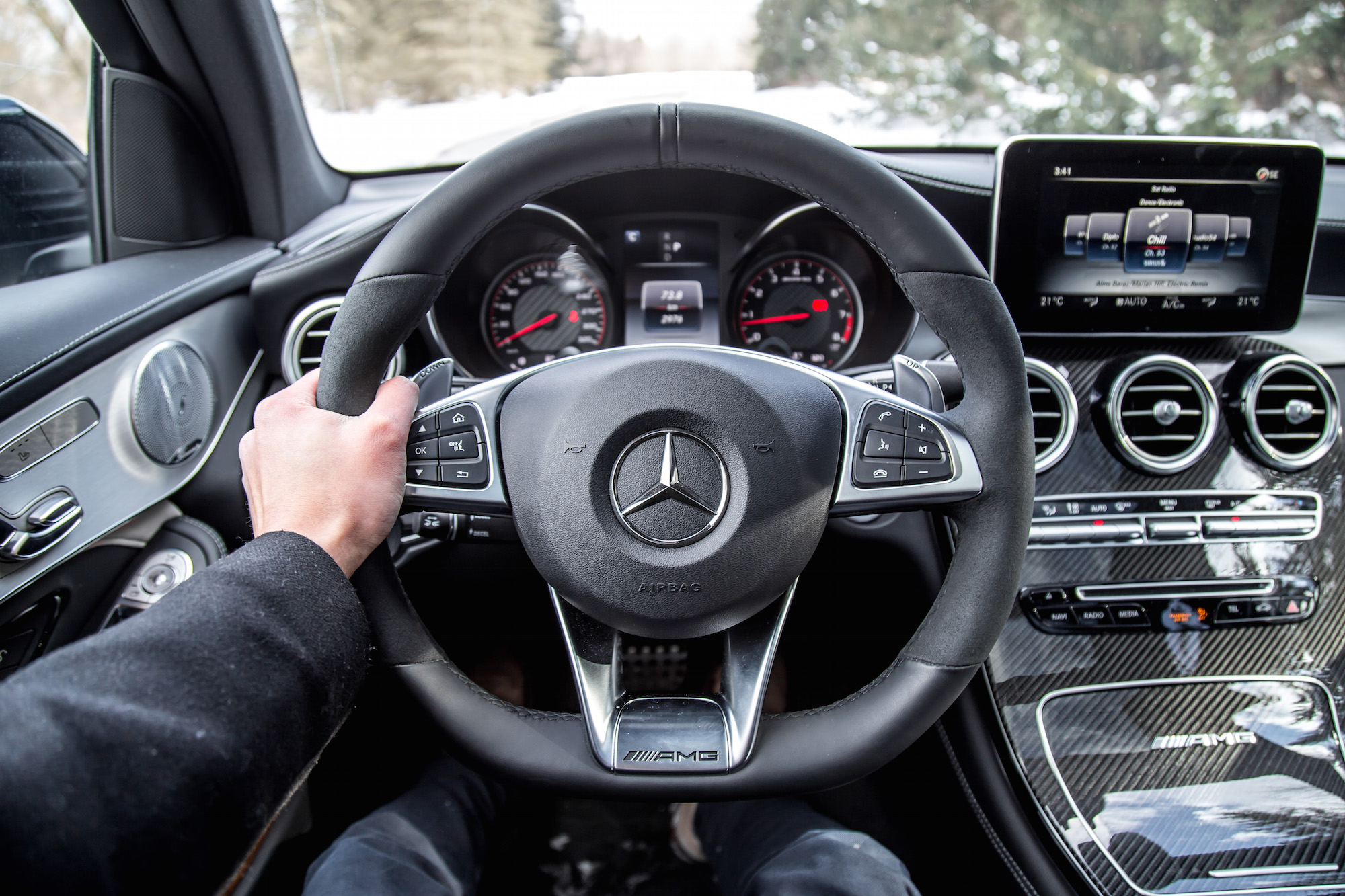 Review 2019 Mercedes Amg Glc 63 S 4matic Suv Car