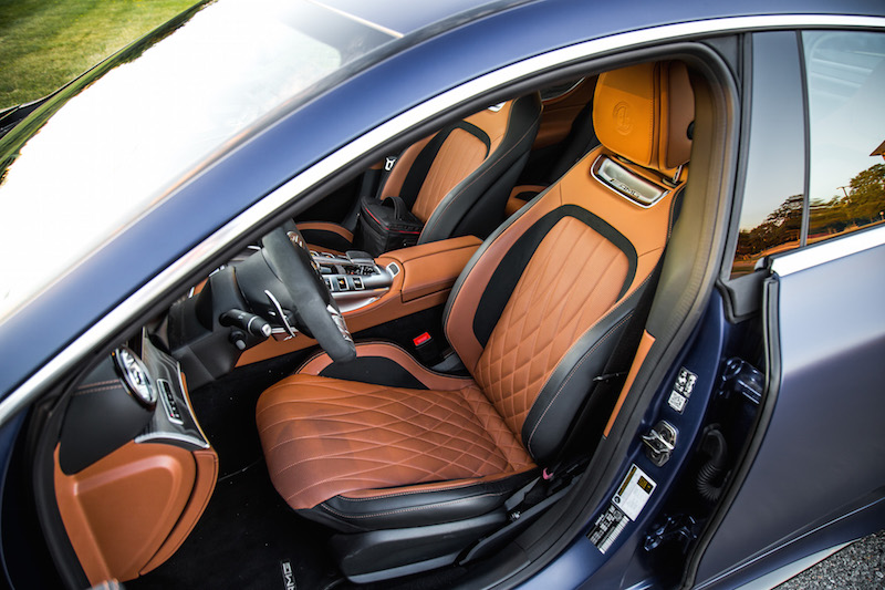 2019 Mercedes-AMG GT 63 S front sport seats