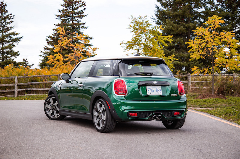 MINI Cooper S 60 Years Edition rear quarter view