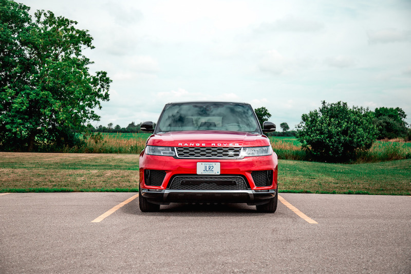 2019 Range Rover Sport HSE Td6 front view new