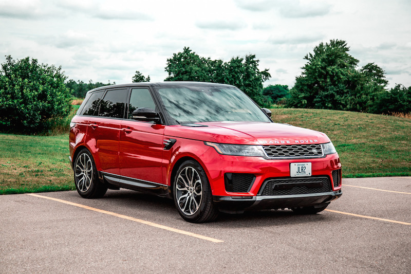2019 Range Rover Sport HSE Td6 red