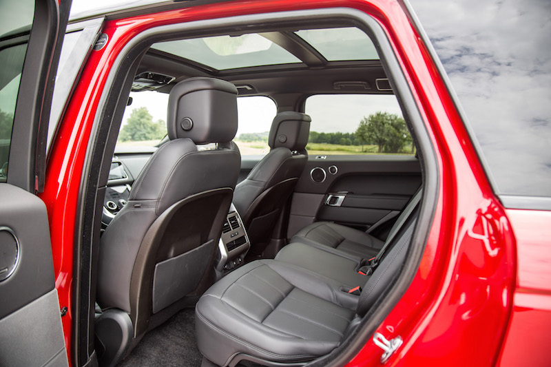 2019 Range Rover Sport HSE Td6 rear seats panoramic roof