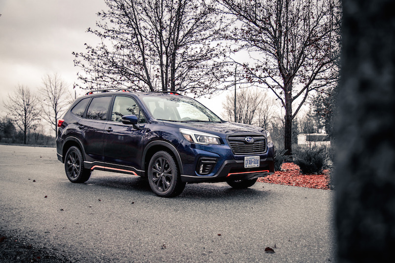 2019 Subaru Forester Sport dark blue metallic