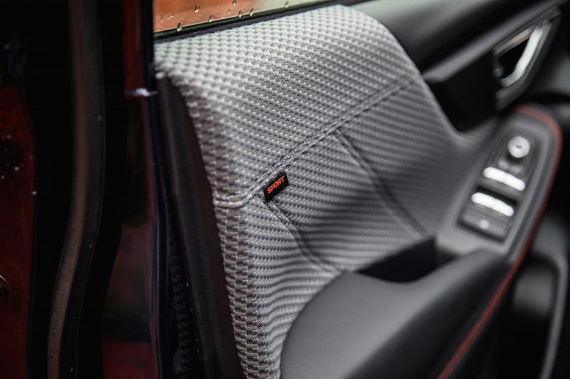 2019 Subaru Forester Sport fabric materials