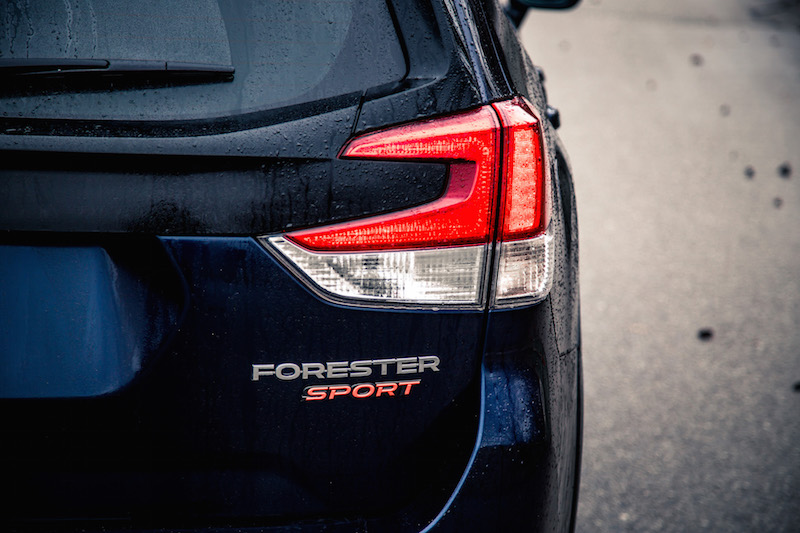 2019 Subaru Forester Sport led taillights