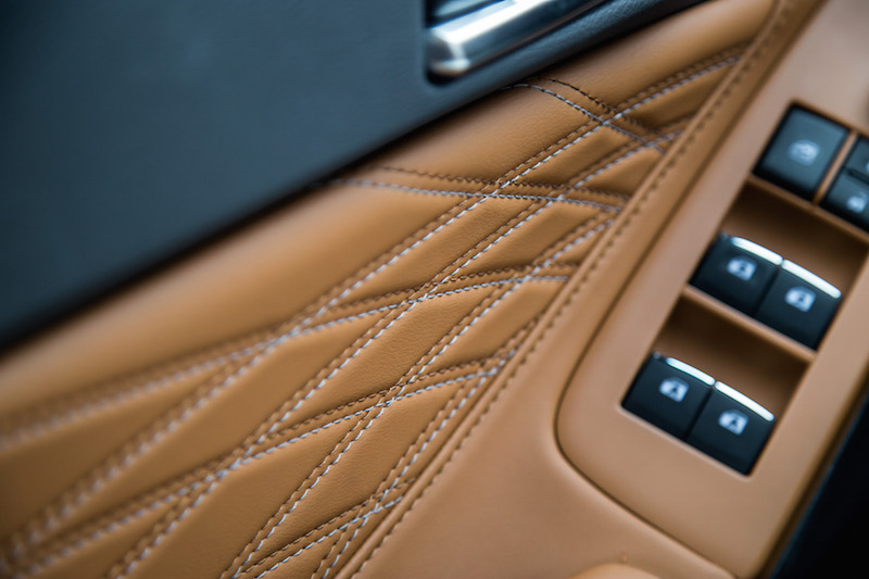 2019 Toyota Avalon Limited leather door inserts