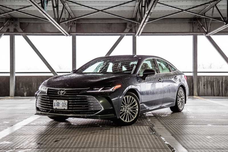 2019 Toyota Avalon Limited harbour grey metallic