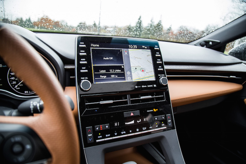 2019 Toyota Avalon Limited display