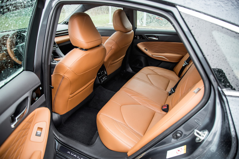 2019 Toyota Avalon Limited rear seats