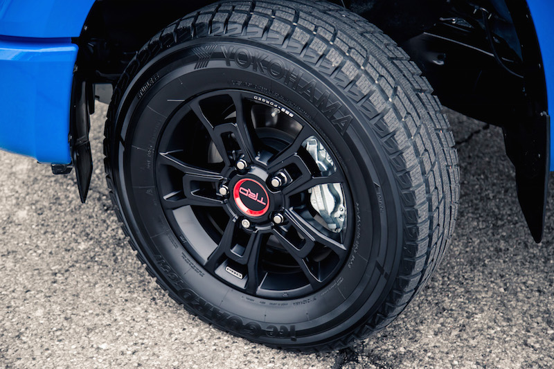 2019 Toyota Tundra TRD PRO yokohama all terrain tires wheels