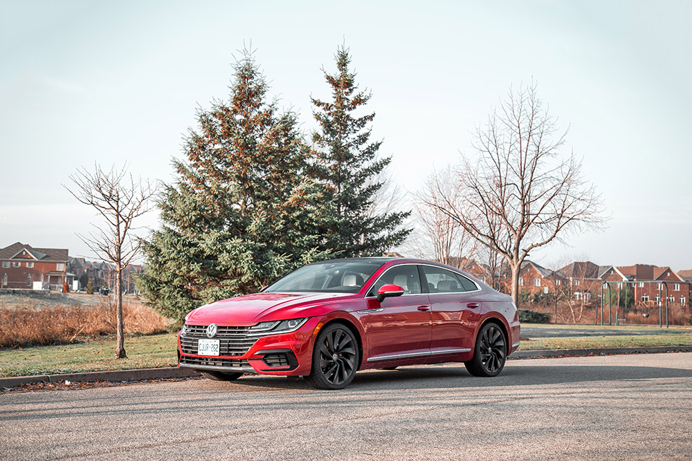 vw arteon execline review