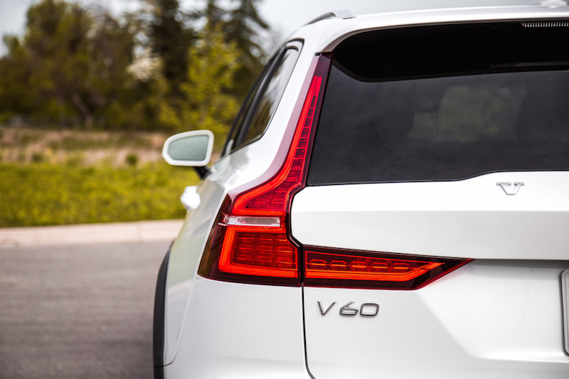 2019 Volvo V60 Cross Country taillights