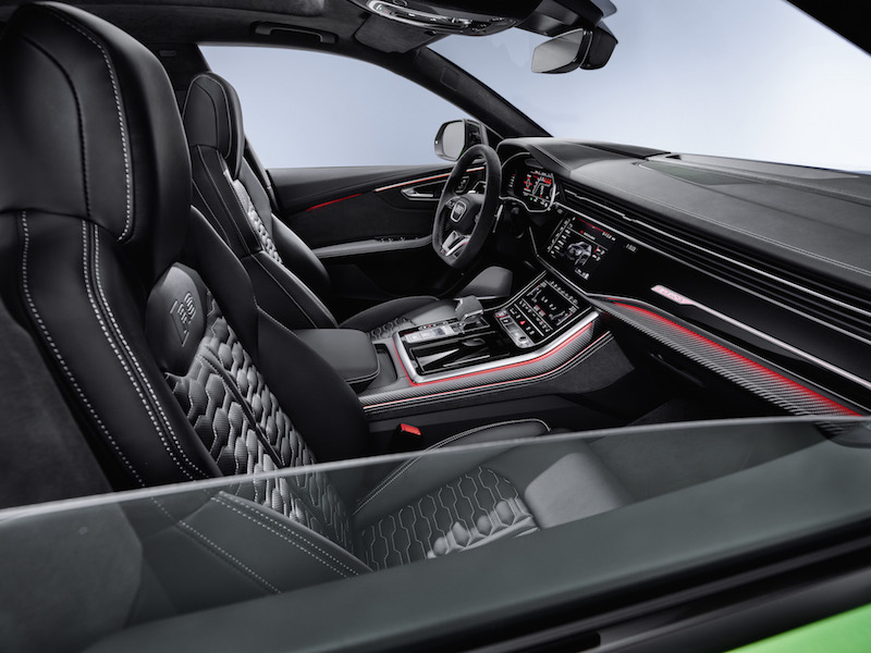 2020 Audi RS Q8 dashboard