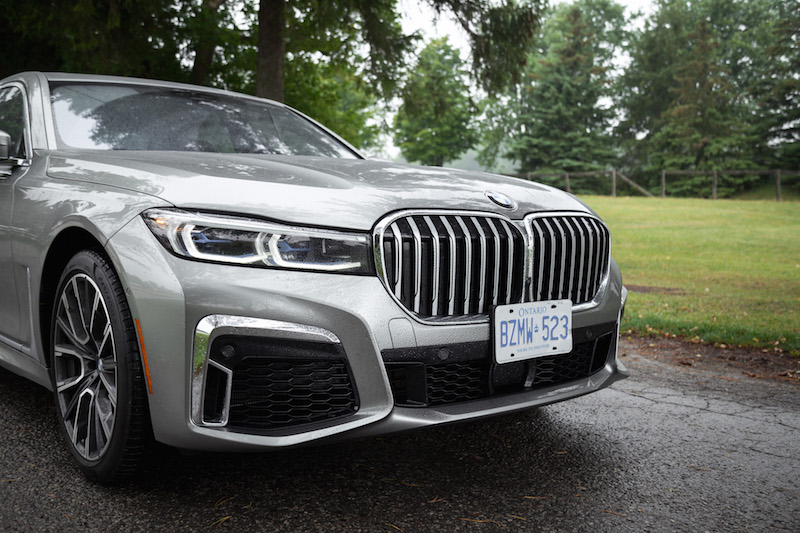 2020 BMW 7 Series larger front grill