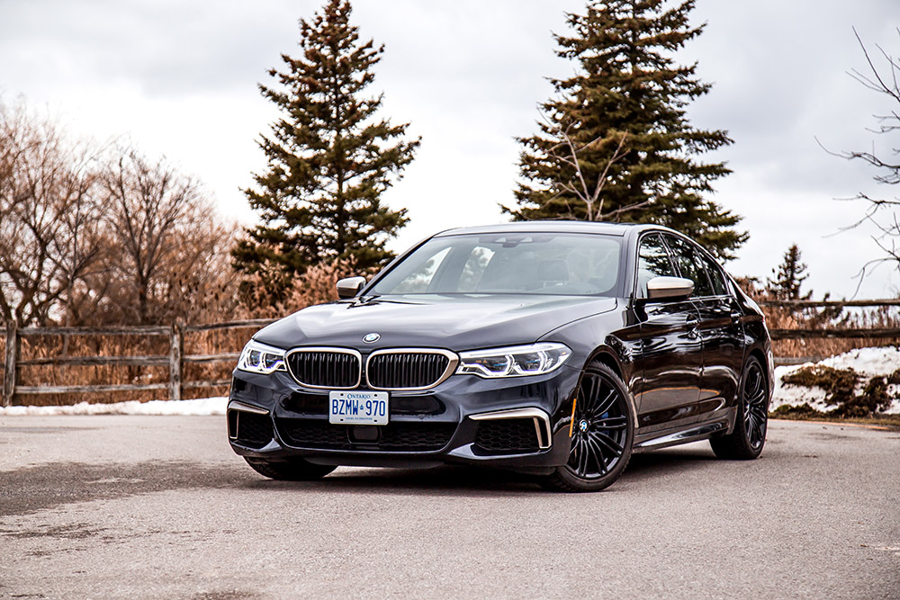 2020 bmw m550i with more power