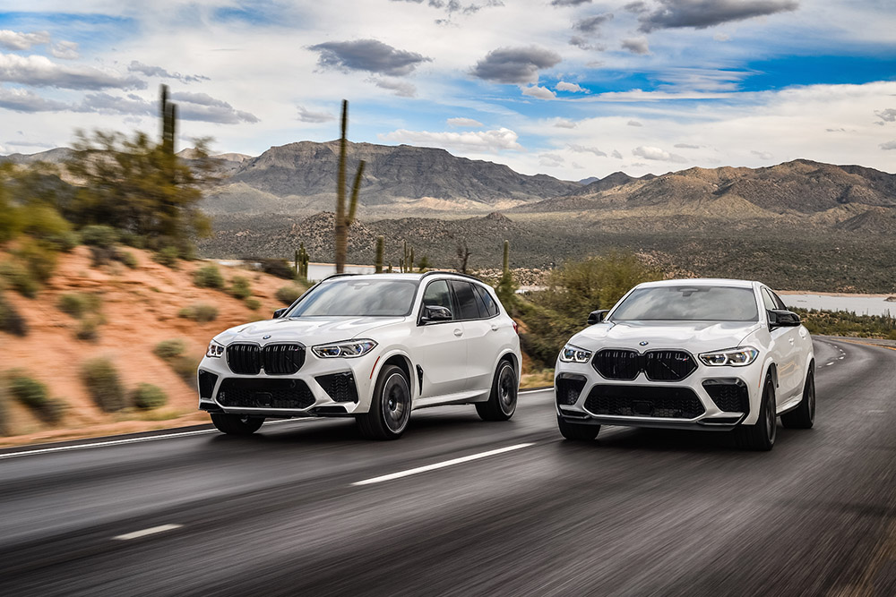2020 BMW X5M and X6M Competition