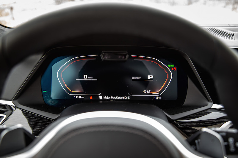 gauges digital x7 bmw m50i