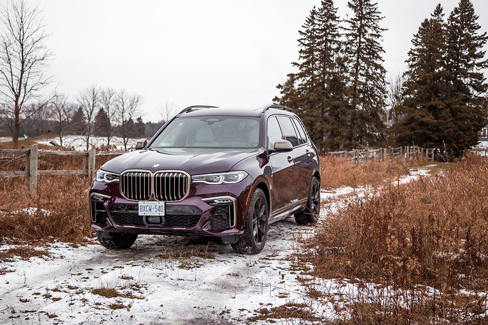 2020 BMW X7 M50i review canada