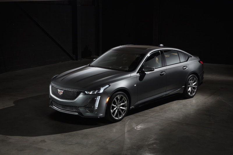 2020 Cadillac CT5 sport grey paint