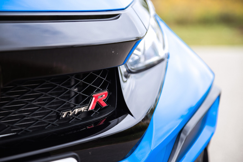 2020 Honda Civic Type R Boost Blue badge