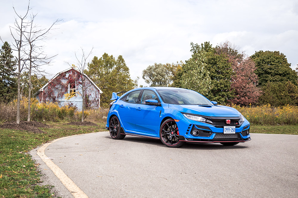 2020 Honda Civic Type R Boost Blue