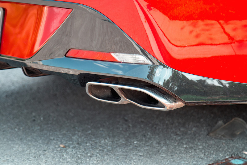 2020 Hyundai Sonata Ultimate exhaust tip